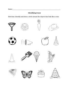 Identifying Cones
