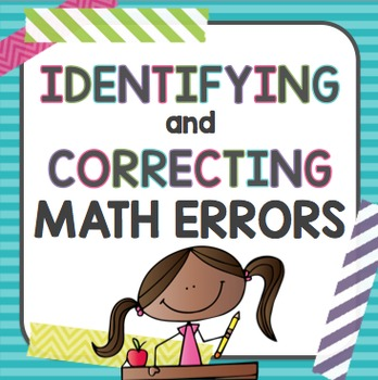 Math Errors: Identifying and Correcting
