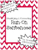 Identifying & Correcting Run-On Sentences: Combining Sentences Practice