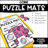 Identifying Counting Coins, Kindergarten, 1st Grade, 2nd G