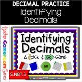Identifying Decimals Powerpoint Game