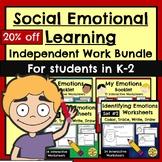 Identifying Describing Emotions Independent Work Packet Bu