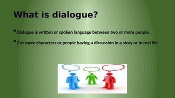 Identifying Dialogue