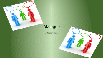 Identifying Dialogue