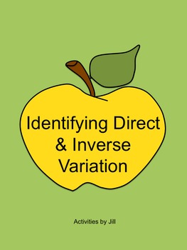 Identifying Direct and Inverse Variation