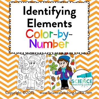 Identifying Elements Color-by-Number