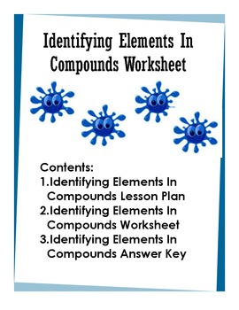 Identifying Elements In Compounds