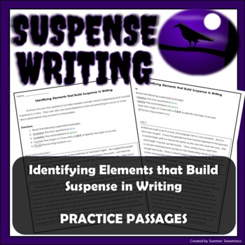 Identifying Elements that Build Suspense in Writing