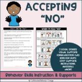 Accepting No Social Stories & Activities   Emotional Regulation