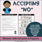 Accepting No Social Stories & Activities | Emotional Regulation