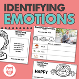 Identifying Emotions for Speech Therapy: Worksheets + an Interactive Book