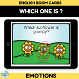 Identifying Emotions Boom Cards Distance Learning