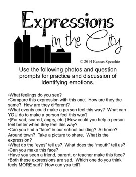 Identifying Emotions: Expressions in the City