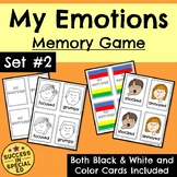 Identifying Emotions Feelings Game Memory Matching Cards D