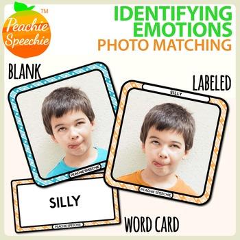 Identifying Emotions - Photo Matching