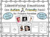 Identifying Emotions: an Autism Friendly Pack