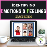 Identifying Emotions and Feelings with Real Pictures। Boom Cards