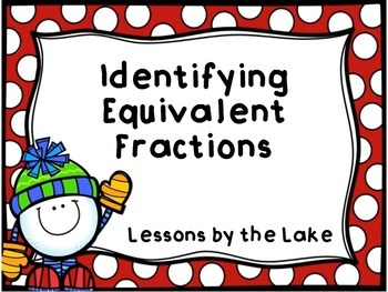 Identifying Equivalent Fraction Task Cards