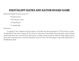 Identifying Equivalent Ratios Board Game