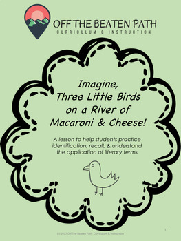 Identifying Examples of Literary Terms: Imagine Three Little Birds