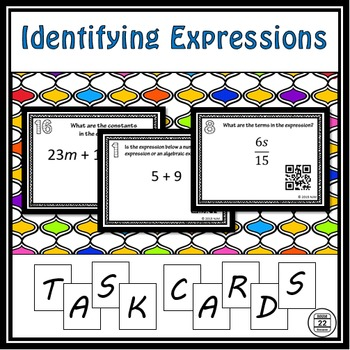 Identifying Expressions Task Cards
