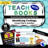 Identifying Feelings – Glad Monster, Sad Monster – PreK-2 No Prep Lesson & Activ