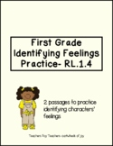 Identifying Feelings Passages- First Grade
