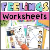 Identifying Feelings Worksheets
