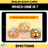 Identifying Feelings and Emotions Boom Cards