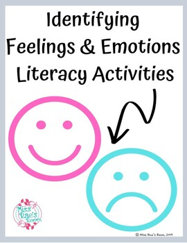 Identifying Feelings and Emotions Literacy Activities