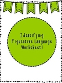 Identifying Figurative Language