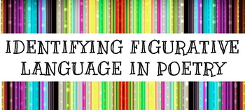 Identifying Figurative Language in Poetry #1