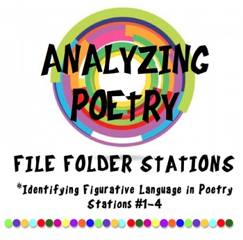 Identifying Figurative Language in Poetry Classroom Stations