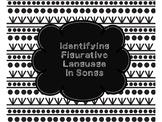 Identifying Figurative Language in Songs
