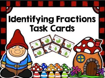 Identifying Fraction Task Cards