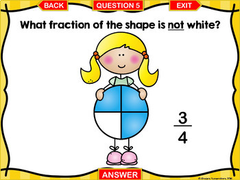 Identifying Fractions PowerPoint Games