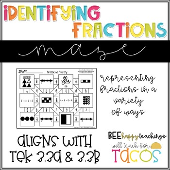 Identifying Fractions 3.3A 3.3B