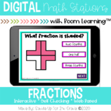 Identifying Fractions | Boom Cards™ | Distance Learning