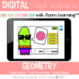 Geometry Digital Task Cards | Boom Cards™ | Distance Learning