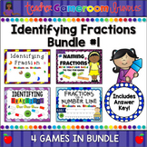 Identifying Fractions Bundle #1