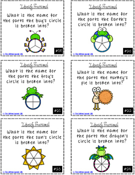 Identifying Fractions Game