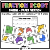 Identifying Fractions - Shaded and Unshaded