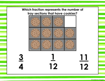Identifying Fractions Task Cards