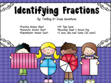 Identifying Fractions - Task Cards and Game!