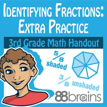 Identifying Fractions pgs. 5 & 6 (Common Core)