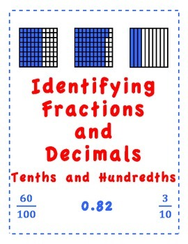 Identifying Fractions and Decimals
