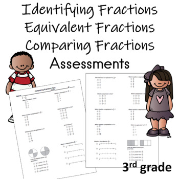 Identifying Fractions and Comparing Fractions Assessment