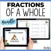 Identifying Fractions of a Whole Digital Mini Bundle