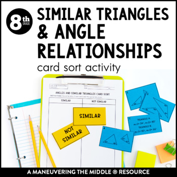 Similar Triangles and Angle Relationships