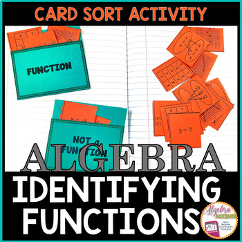 Identifying Functions Card Sort